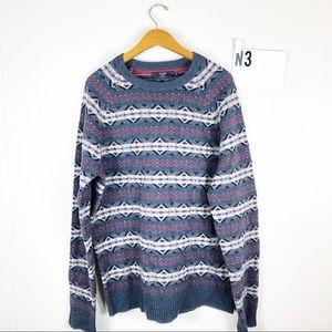 J Crew fair isle sweater XL Tall